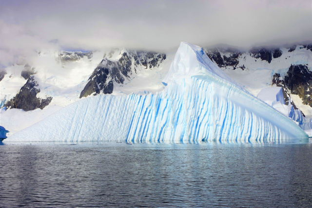 Antarctica - Iceberg Pyramid