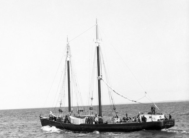 L.A. Dunton - 'the last of the Grand Bank banking schooners'