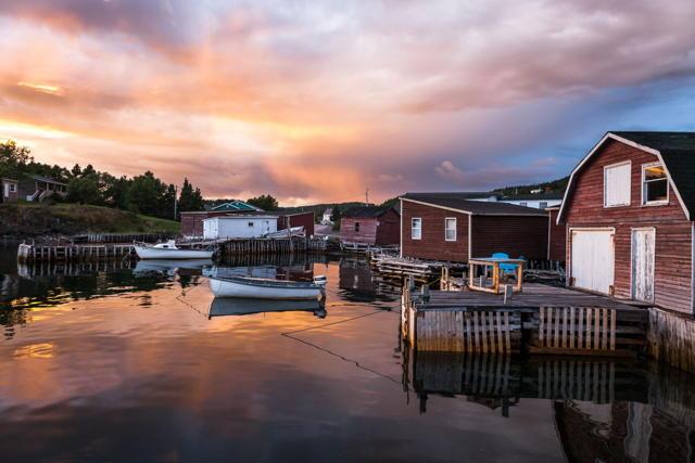 Hickman's Harbour Sunset II