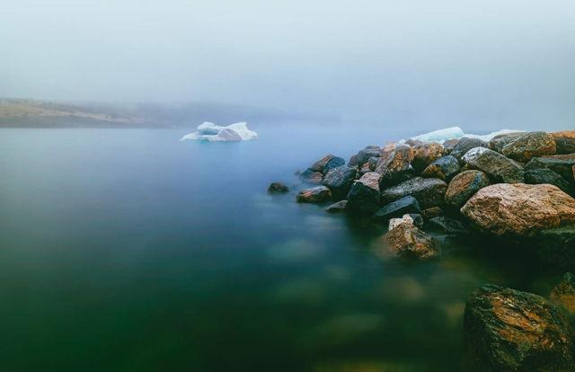 Foggy Iceberg Flatrock
