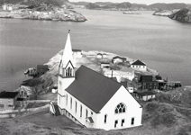 Zion United Church, Burin, NL. - early 1970s