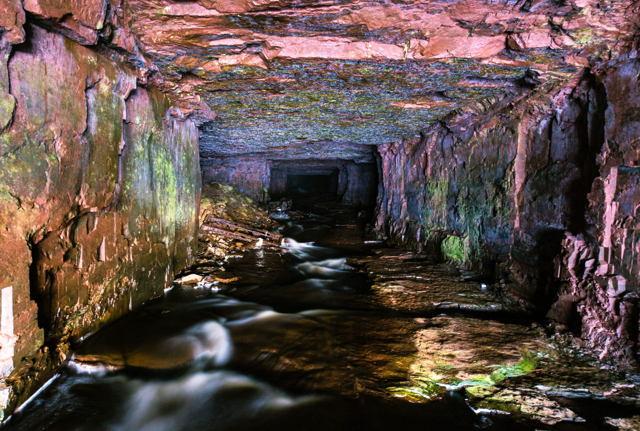 Mineshaft on Bell Island