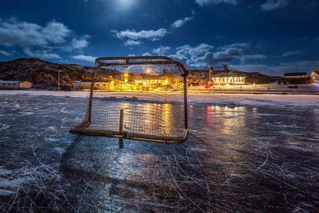 Hockey Night - Port De Grave