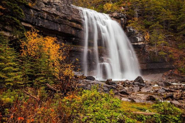 Hidden Falls - Sheaves Cove