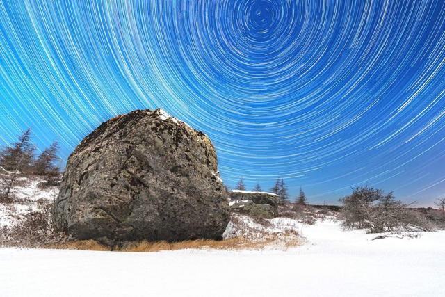 Butterpot Star Trails January 2017