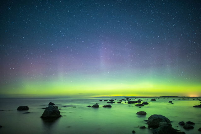 Broom Point Northern Lights 1