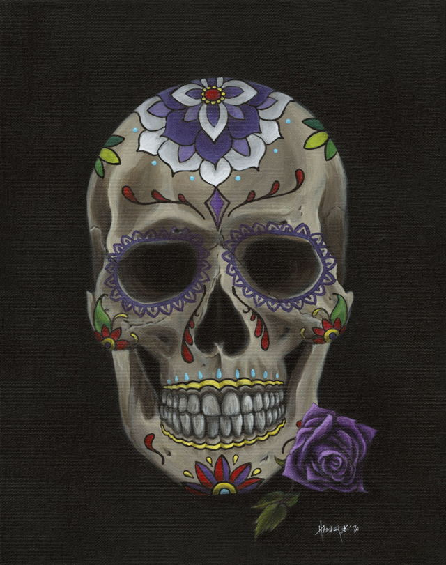 A Sugar Skull for Emma
