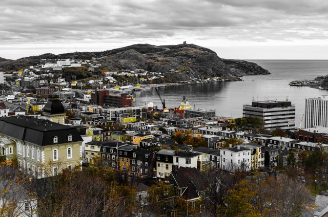 A View From The Rooms, St. John's, NL