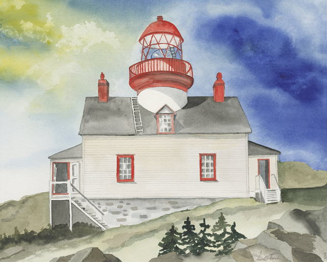 Brunette Island Lighthouse