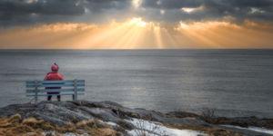 Sunrise at Petty Harbour