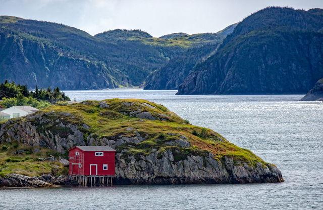 Ben Mitchell's Stage, Burin Bay, Newfoundland