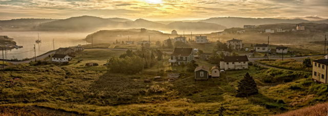 Dawn, Port Rexton, Newfoundland