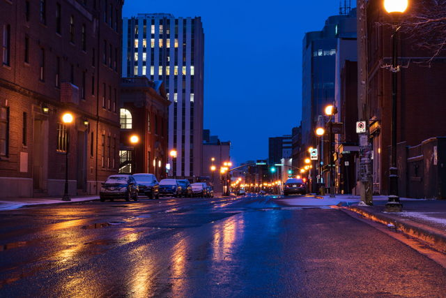 Blue Hour in the City