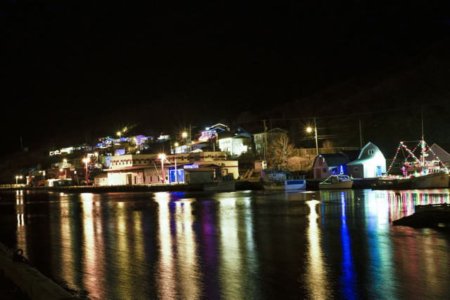 Petty Harbour Lights