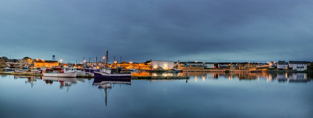 Bonavista Harbour at Night